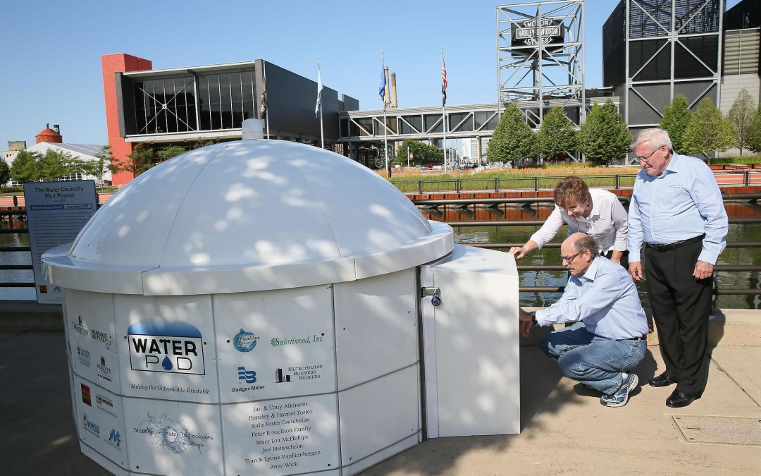 Water POD™ delivers hope for clean drinking water